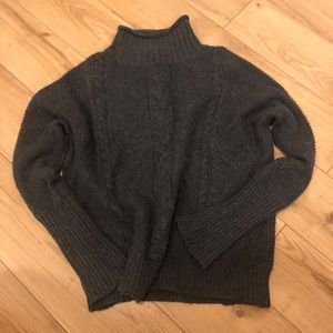 Cozy Charcoal Grey Oversized Sweater